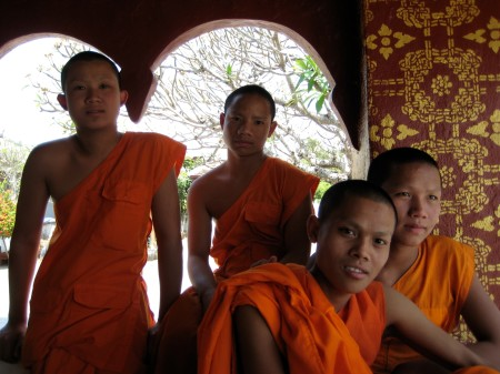 Novice Monks, Laos