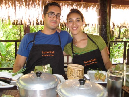 Tamarind Cooking School, Luang Prabang, Laos